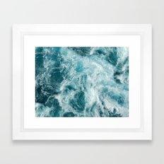 Bali Waves Framed Art Print