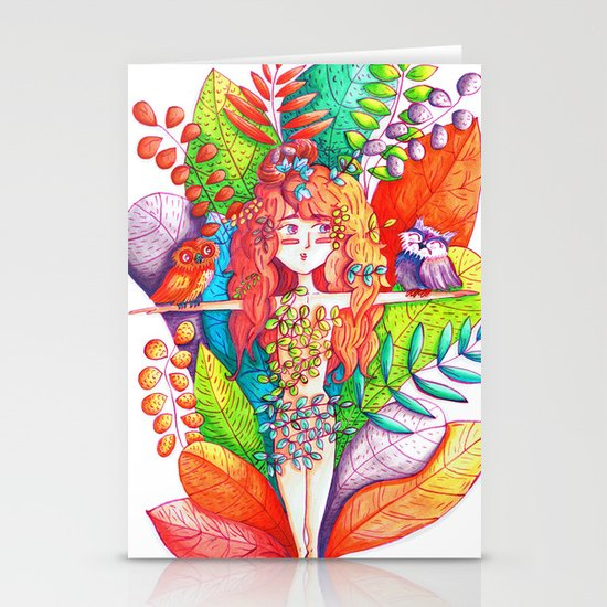 Natural Balance Stationery Cards