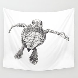 Chelonioidea (the turtle) Wall Tapestry