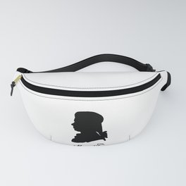 Wolfgang Amadeus Mozart (1756 -1791) silhouette, engraved by Hieronymous Löschenkohl, 1785 Fanny Pack