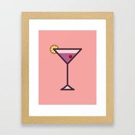 Cocktail - Icon Prints: Drinks Series Framed Art Print
