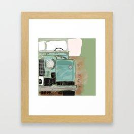 Landy Ho! Framed Art Print