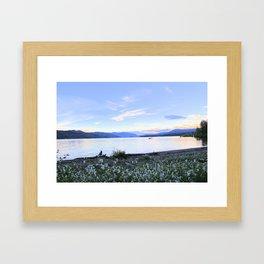Wild Flowers in the Twilight Framed Art Print