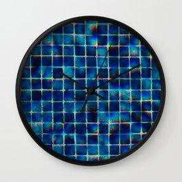 Aquares Wall Clock
