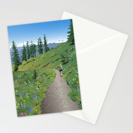 Silver Star Mountain Stationery Cards