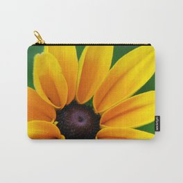Yellow Daisy Flower Carry-All Pouch