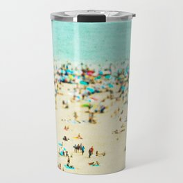 Coney Island Beach Travel Mug