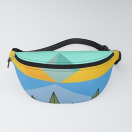 Lake and mountains Fanny Pack