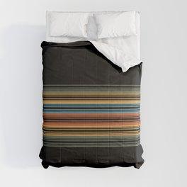 Vibrant Bold Stripes Comforters