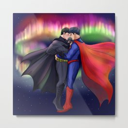 SuperBat - Dance Metal Print