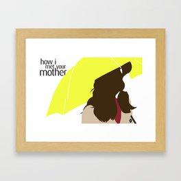The Mother - HIMYM Framed Art Print