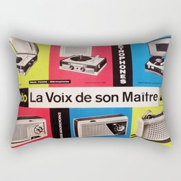 Vintage Sounds of the Underground Rectangular Pillow