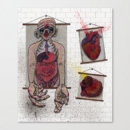 After Dark in the Anatomy Lab Canvas Print