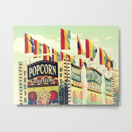 Popcorn Candytime Metal Print