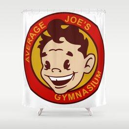 Average Joe's Gym Design, Poster Gymnastics, Movie, Dodgeball, Hardball Shower Curtain