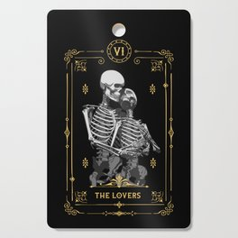 The Lovers VI Tarot Card Cutting Board