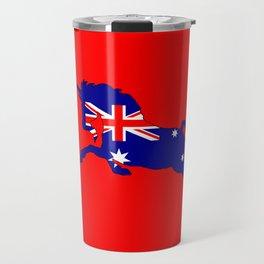 Australian Flag - Unicorn Travel Mug