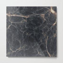 Marble effect Metal Print