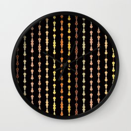 Multi-faceted decorative lines 14 Wall Clock