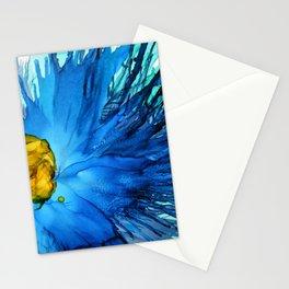 Cobalt Splash Stationery Cards