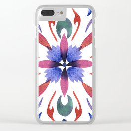 Floral ornament. Watercolor Clear iPhone Case