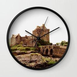 Eilean Donan Castle 2 Wall Clock