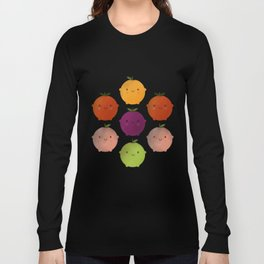 Cutie Fruity (Watercolour) Long Sleeve T-shirt