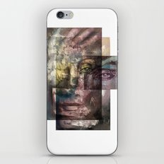 Gravure 02 iPhone & iPod Skin