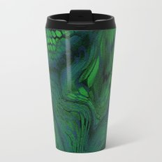 green iguana Travel Mug