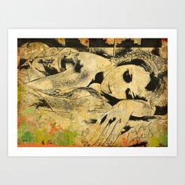 sleeping Art Print