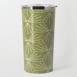 SUN TILE GREEN Travel Mug