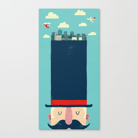 City Gent Canvas Print