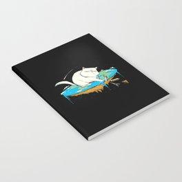 Flat Earth Cat Notebook