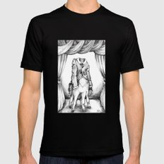 Haunted Clothing- The Coat of a Thousand Young SMALL Mens Fitted Tee Black