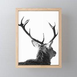 Hey Deer Framed Mini Art Print