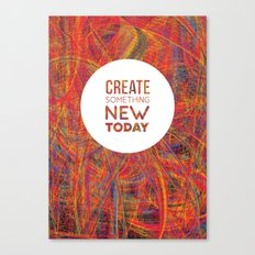 Create! Canvas Print