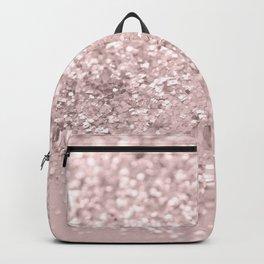 Blush Glitter Dream #1 #shiny #decor #art #society6 Backpack