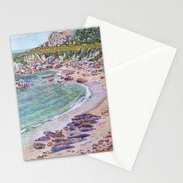Harbor Seals at Hopkins Beach Stationery Cards
