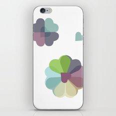 Heartflowers1 iPhone & iPod Skin