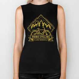 More Cycling Again Biker Tank