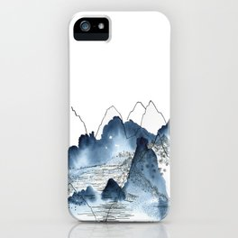 Love of Mountains iPhone Case