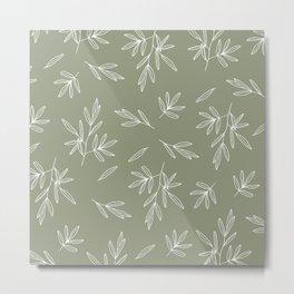 Olive in Olive Metal Print