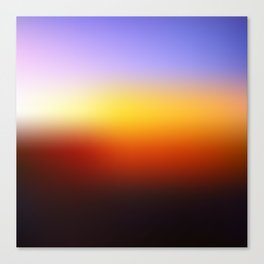 Sunset Gradient 7 Canvas Print