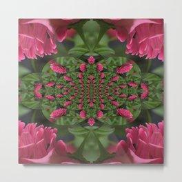 Flowering Pinkness... Metal Print