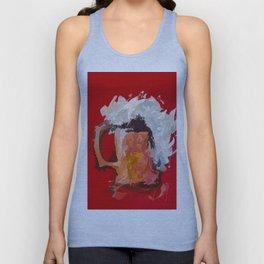 Abstract Beer Unisex Tank Top