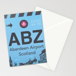 ABZ airport Stationery Cards