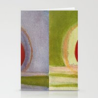 metal Stationery Cards featuring Metal by Angella Meanix