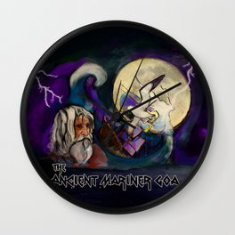 The Ancient Mariner - Goa Wall Clock