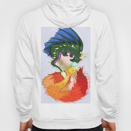 The Dragon And The Phoenix Hoody