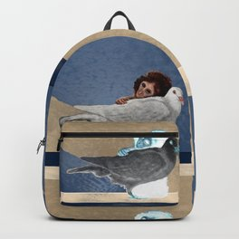 The conception of love and peace Backpack